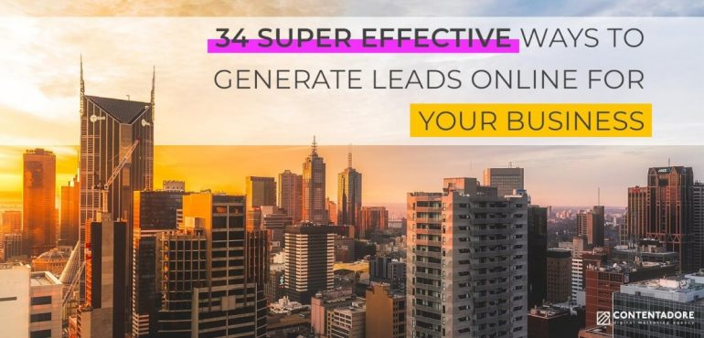 Image of 34 Super Effective Ways to Generate Leads Online for Your Business